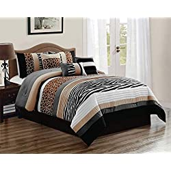 11 Piece Nolan Safari Bed in a Bag Set Cal King