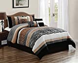 KingLinen 11 Piece Nolan Safari Bed in a Bag Set Queen