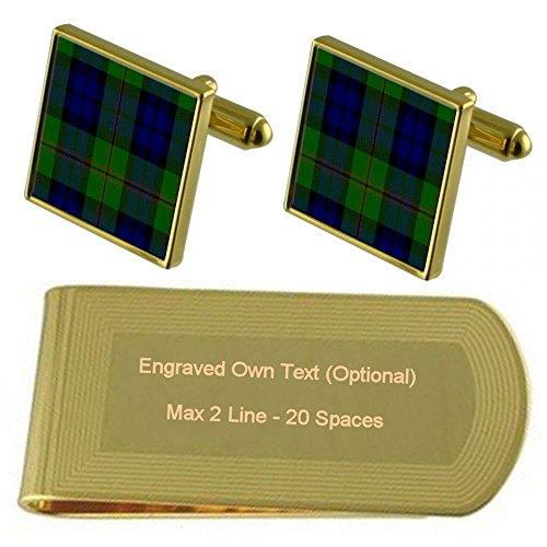 Tone Dundas Tone Dundas Money Tartan Money Engraved Engraved Gold Clan Tartan Gold Clip Clan PPnUgrwq5x