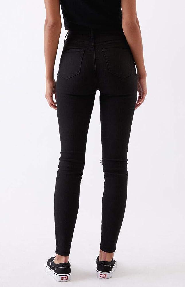 Amazon Com Pacsun Pantalones Vaqueros De Cintura Alta Para Mujer Straight Clothing