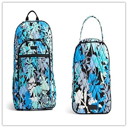 Vera Bradley Campus Backpack and Lunch Bunch Camo Floral