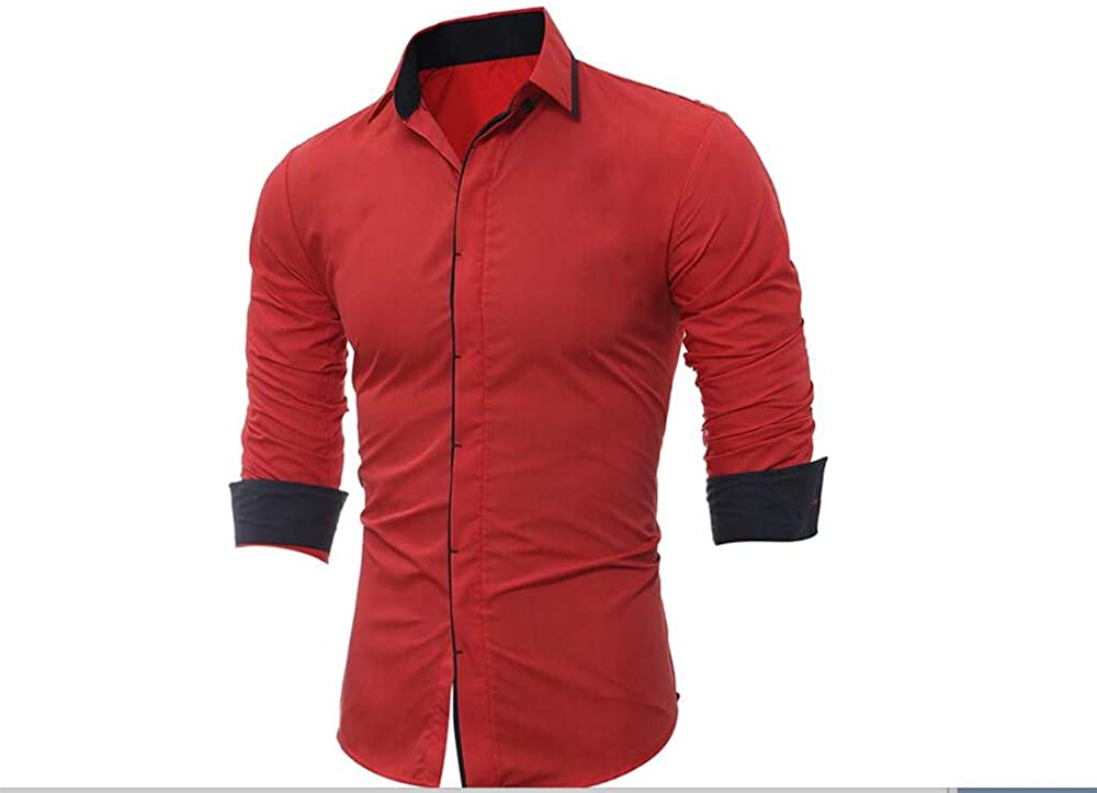 TOP Fighting Mens Shirts Long Sleeve Casual and Short Sleeve Shirts for Men with Pockets Western Plaid Shirts Rugular Fit