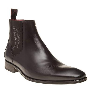 97431b2c23c471 Jeffery West Sax Chelsea Herren Stiefel Braun  Amazon.de  Schuhe    Handtaschen