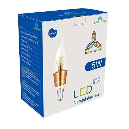 Warmoon-E17-LED-Bulb-4W-Daylight-White-6000K-40W-Equivalent-for-Freezer-Under-Microwave-Stove-Light-2-Pack