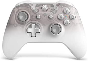 Mando Inalámbrico Phantom White - Edición Especial (Xbox One)