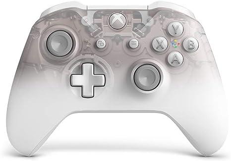 Microsoft - Mando Inalámbrico Phantom White - Edición Especial (Xbox One), blanco: Microsoft: Amazon.es: Videojuegos
