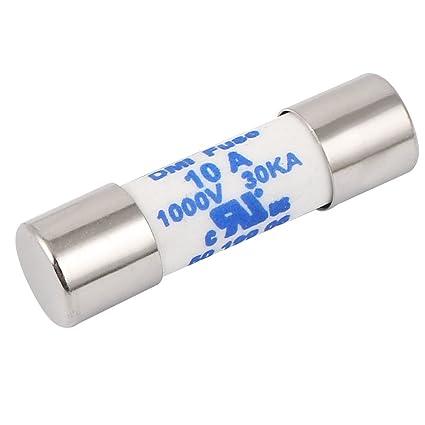 Awesome Sourcing Map Multimeter 10 X 38Mm 1000V 10A Cylinder Ceramic Fuse Wiring Digital Resources Llinedefiancerspsorg