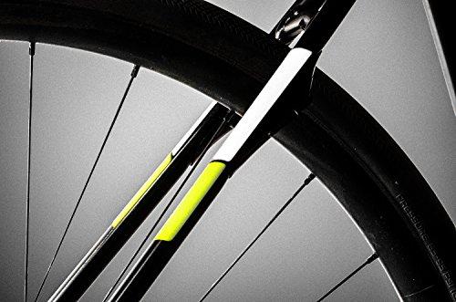 Reflective Tape Hi Vis Visibility Decal Vehicle Motorcycle Bike Fluroscent Peel