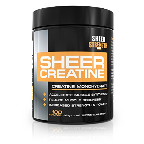Sheer Strength Labs Creatine Monohydrate - 500g - 100 Servings