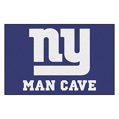 FANMATS 14341 NFL New York Giants Nylon Universal Man Cave Starter Rug