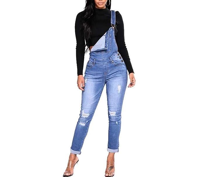 Amazon.com: Pantalones Jeans Skinny de Mujer Cintura Alta ...
