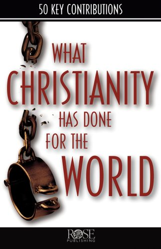 What Christianity Has Done for the World PDF