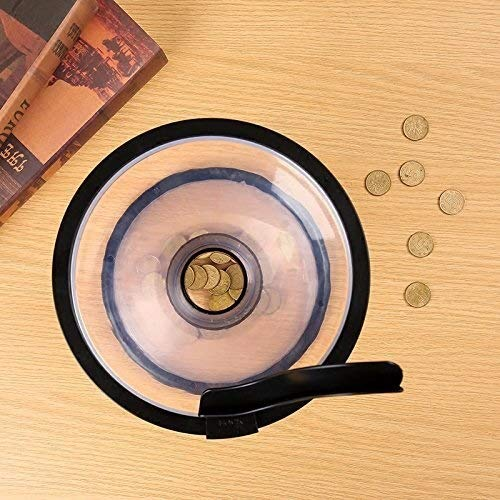 Cherish Vortex Transparent cr/éatif Tirelire en Forme de Cercle encerclant la Banque Vortex Banque Gravity Souvenir