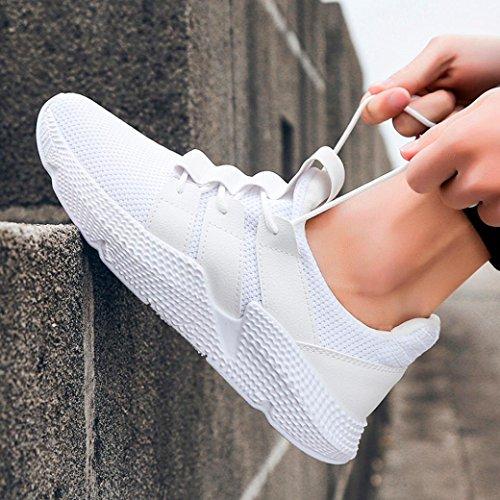 da Sportive Scarpe Sneaker Corsa Running Bianca UOMOGO Basse Uomo Sport qfPOWOwTx