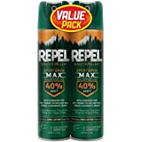 Repel Insect Repellent Sportsmen Max Formula 40% DEET, Aerosol, 2/6.5-Ounce