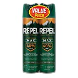 Repel 33802 Sportsmen Max Insect Lent 6.5 oz, Aerosol 40% Deet