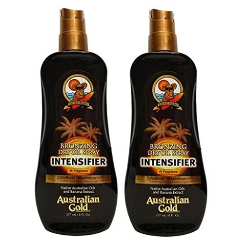 2 Pack Bronzing Dry Oil Spray Intensifier
