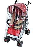 Universal Wind Shield Clear Waterproof Rain Cover Fit Most Strollers Pushchairs