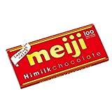 Meiji Himilk Chocolate Bar Mild Japan Snack Dagashi