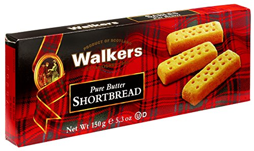 Walkers Shortbread Fingers, 5.3-oz. Boxes (Count of (Butter Shortbread)