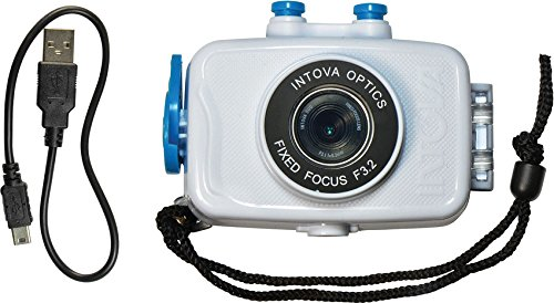 INT00183-BRK Duo Sport Action Camera White