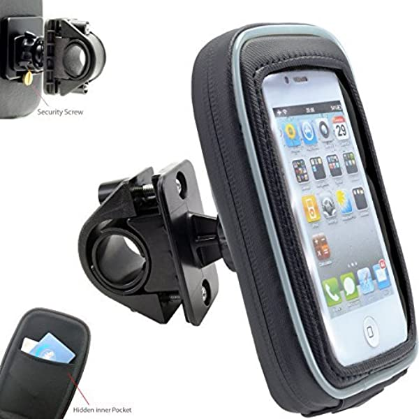 Portable 360/°Adjustable Motorcycle Handlebar Cell Phone GPS Mount Holder USB Charger Universal Accessories Motorcycle Holder