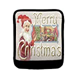 Happy At Home Christmas Card Luggage Handle Wrap Finder