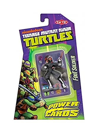 Amazon.com: Turtles Power Tarjetas pie Clan Lucha Figura ...