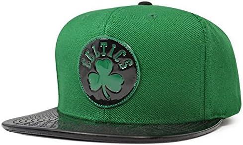 39f2591cef4 Amazon.com   Mitchell   Ness Boston Celtics Team Standard Snapback NBA  Adjustable Hat - Green
