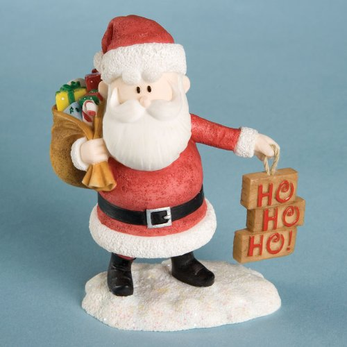 Rudolph The Red-Nosed Reindeer Santa Figurine