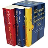 Houghton Mifflin Products - Houghton Mifflin - Webster's New Essential Reference 3-Book Desk Set, Paperback - Sold As 1 Set - Features three handy-size reference books. - Dictionary has 60,000 definitions. - Thesaurus has 35,000 synonyms. - Includes New E