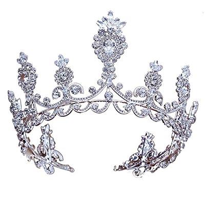 MDRW-Accessoires De Cheveux De Mariée En Épingle À Cheveux/Mariage/fête/femme le style européen coiffe haut de gamme diamond reine tour diadème zircon ornements pour