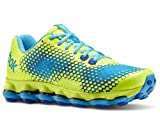 Reebok Reebok Women's Dmxsky Running Shoes (10 B(M) Us, Neon Yellow/Blue Blink/Tetra