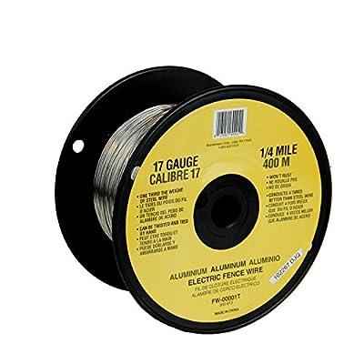 Fi-Shock FW-00001T 1/4 Mile, 17 Gauge Spool Aluminum Wire: Garden & Outdoor