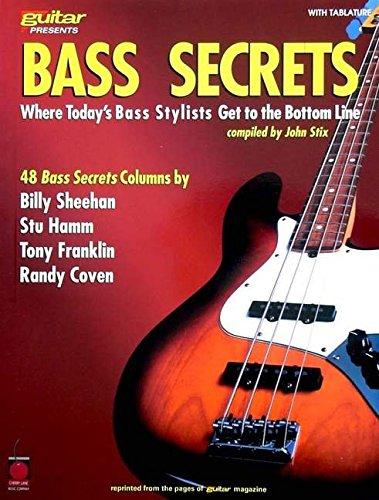 Read Online Bass Secrets: Where Today's Bass Stylists Get to the Bottom Line (Guitar Magazine) pdf epub