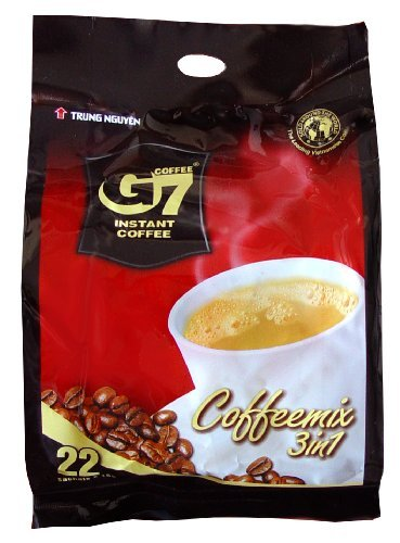 G7 Instant Coffee 3-in-1, 22 Servings by G&G