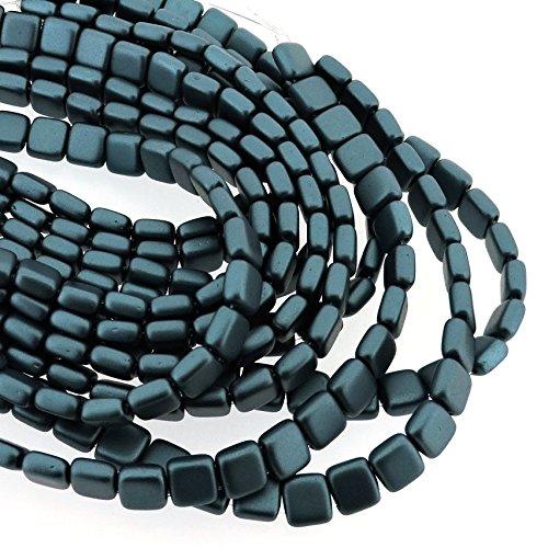 6mm Czech Glass Pearl Beads - 7