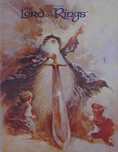 Lord of the Rings 1978 original movie program - NOT A DVD