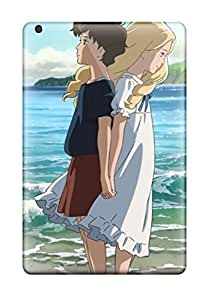 New Style Case Cover Protector For Ipad Mini 3 Cartoon Couple From Film When Marnie Was There Case