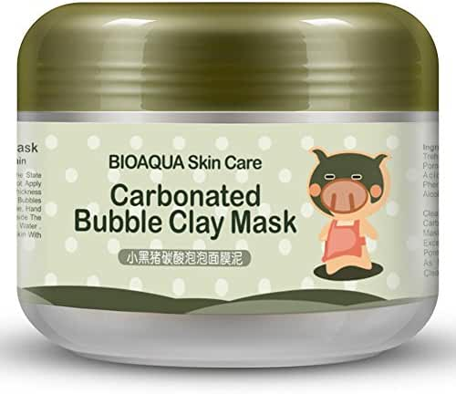Bubble Clay Mask Whitening Oxygen Mud Moisturizing Deep Pore Cleansing Face Mask