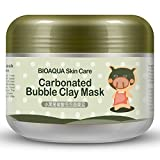 Clay Mask Good for Blackheads Bubble Clay Mask Whitening Oxygen Mud Moisturizing Deep Pore Cleansing Face Mask