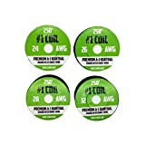 Kanthal A-1 Wire 1000 ft 4 Pack - 24 26 28 32 AWG Gauge Spools - Each Roll 250 Feet - RoHS Certified Safe Resistance Wires