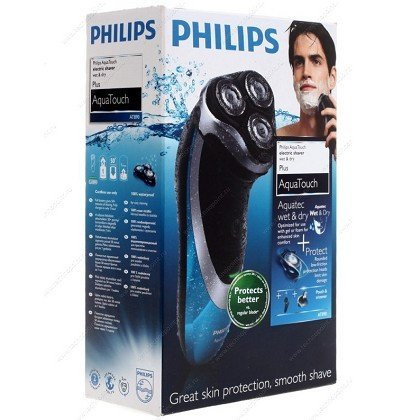 Philips Aqua Touch Shaver AT890 in Box with Accessories