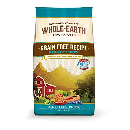 Cheap Merrick Whole Earth Farms Grain Free Healthy Puppy Recipe Dry Food, 25 lbs.
