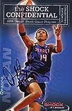 Signed WNBA Shock MVP Deanna Nolan Autographed 06