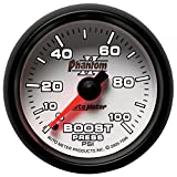Auto Meter 7506 Phantom II 2-1/16'' 0-100 PSI Mechanical Boost Gauge