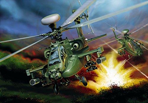 Italeri 510000863 Model Aeroplane Boeing Ah-64d Apache Longbow 1:48 Scale