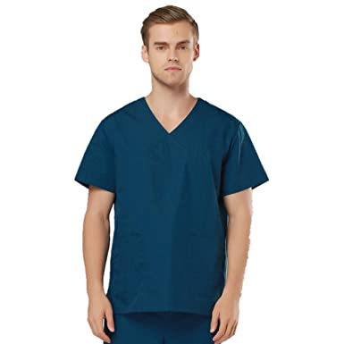 ESENHUANG Uniformes Quirúrgicos Unisex Ropa Médica Trajes De Médico Split Brush Suit Escudo Y Pantalones Sets Dental Workwear: Amazon.es: Ropa y accesorios