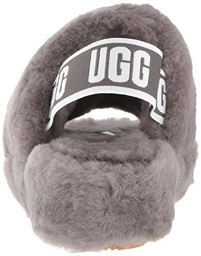 1095119 Gris Ugg Fluff Charcoal Yeah EwqanqR
