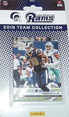 ff19ad57 Amazon.com: Los Angeles Rams 2018 Panini Factory Sealed NFL Football ...